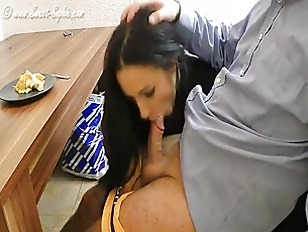 Submissive Slave forced to Blo