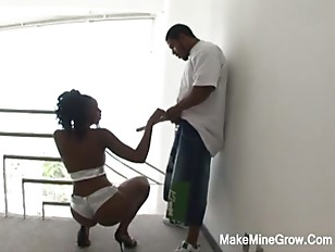 Picture Hot Ebony Screwed By Two Big Cock