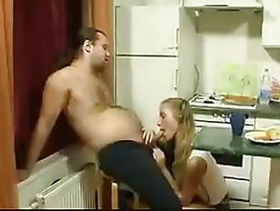 Picture Young Young Girl 18+ Seduced Old Man In Kitc...