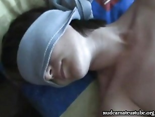 Russian blindfolded amateur