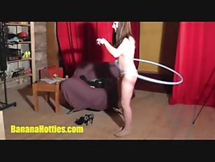 Picture Two Kinky 20y-Girls Playing With Banana And...