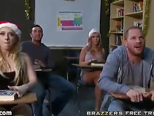 Picture Sexy School XXX Mas Break Orgy Part 1