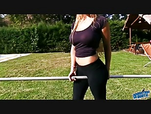 Picture Amazing Body Busty Blonde Young Girl 18+. Sh...