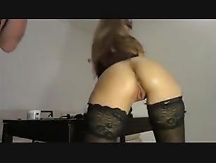 brunette chick ride on dildo