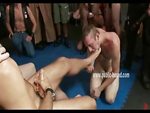 Gay guy is stripped and fucked
