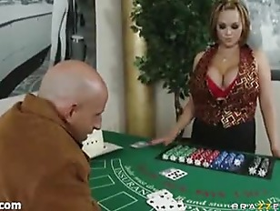 Picture The Sexy Black Jack Dealer Katie Kox Part 1