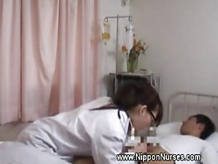 Slutty doctor examines patient