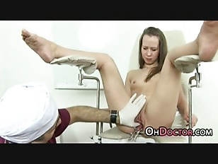 Picture Speculum Vaginal Inspection From Dirty Docto