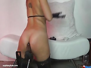 Picture Anal Riding A Fucking Machine and More