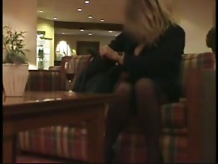Picture Slutty In A Hotel Lobby