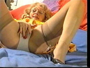 Picture Granny In Her Girdle And Nylons