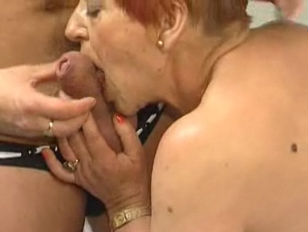Picture Deliciously Hairy Granny Sucks And Fucks