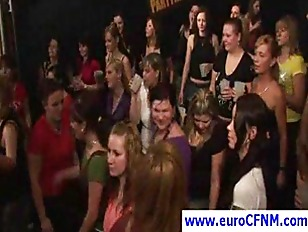 European CFNM orgy with nasty
