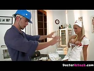 Picture Burst On The Nurse