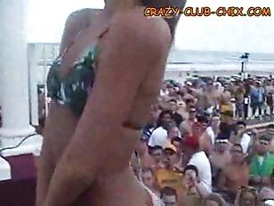 Picture Bikini Contest At Spring Break