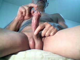 Intense masturbation on webcam