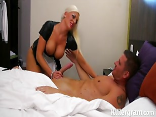 Lissa Love is one hot maid