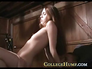 Picture College Cock Riding Coed In The Garage
