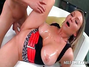 Hardcore video with slutty MIL