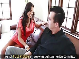 Picture Sexy Latina Adrianna Luna Fucks Her Husband...
