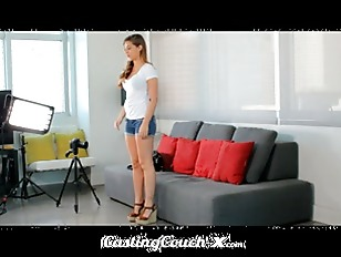 Casting Couch-X  Ashamed 18 ye