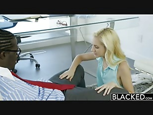 Picture BLACKED Hot Assistant Odette Delacroix First...