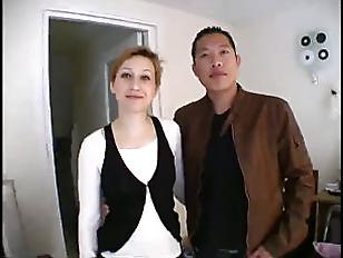 Rachel has sex with hot asian