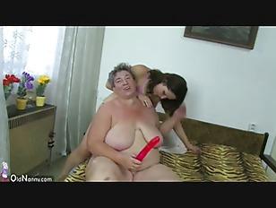 OldNanny Old fat granny and fa