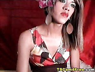 Asian Tranny in Dress