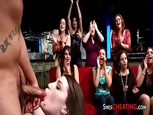 Swallowing Sluts At Male Strip