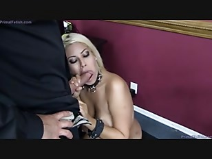 office slave fuck in office
