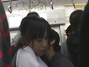 Picture Innocent Young Girl 18+ Groped On A Subway Train