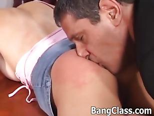 Hot schoolgirl fucking in the