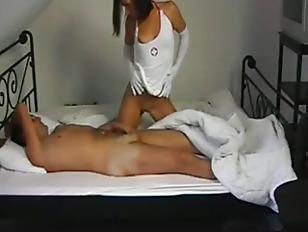 Picture German Amateur Andrea As A Nurse