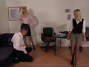 Picture Office Dommes Spank Guy
