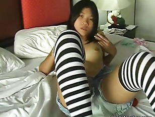 Picture Luscious Asian Ex Girlfriend Plays With Her...