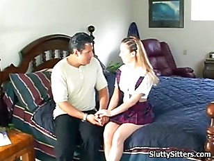 Picture Hot Babysitter Reamed By Her Boss