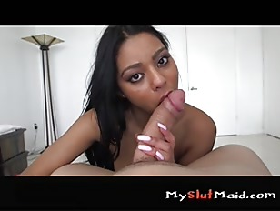 Hot new maid Aaliyahs full service p4