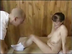 MATURE MOM FUCKED IN SAUNA