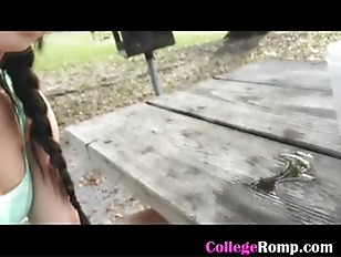 Picture College GF Handjob In The Park