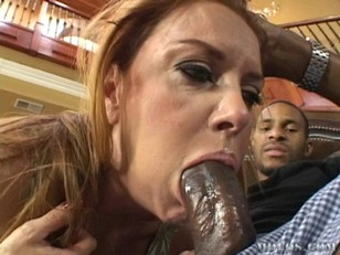 Picture Janet Mason Milf Interracial Blowjob
