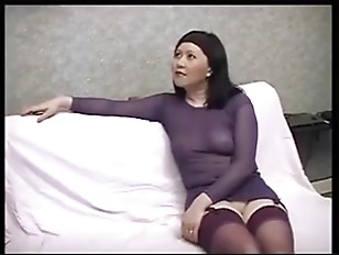 Korean Milf interracial fuck