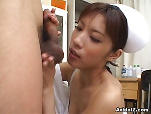 Picture Horny Nurse Riko Tachibana Big Blowjob With...
