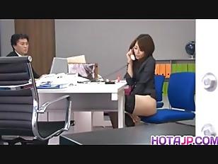 Maki enjoys dildo on her pussy