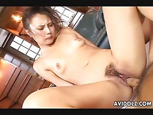 Gorgeous Japanese slut loves t