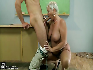 Picture Mature Teacher