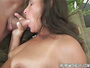 Picture Mama Rewards Two Boys Hard Work With Hot DP...