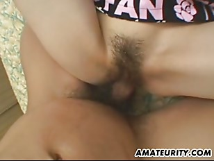 Picture Hairy Asian Amateur Girlfriend Fucks With Fa...