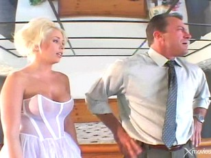 Father fucks sons bride