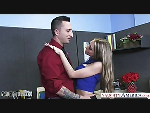 Picture Busty Office Babe Shawna Lenee Swallow Cum